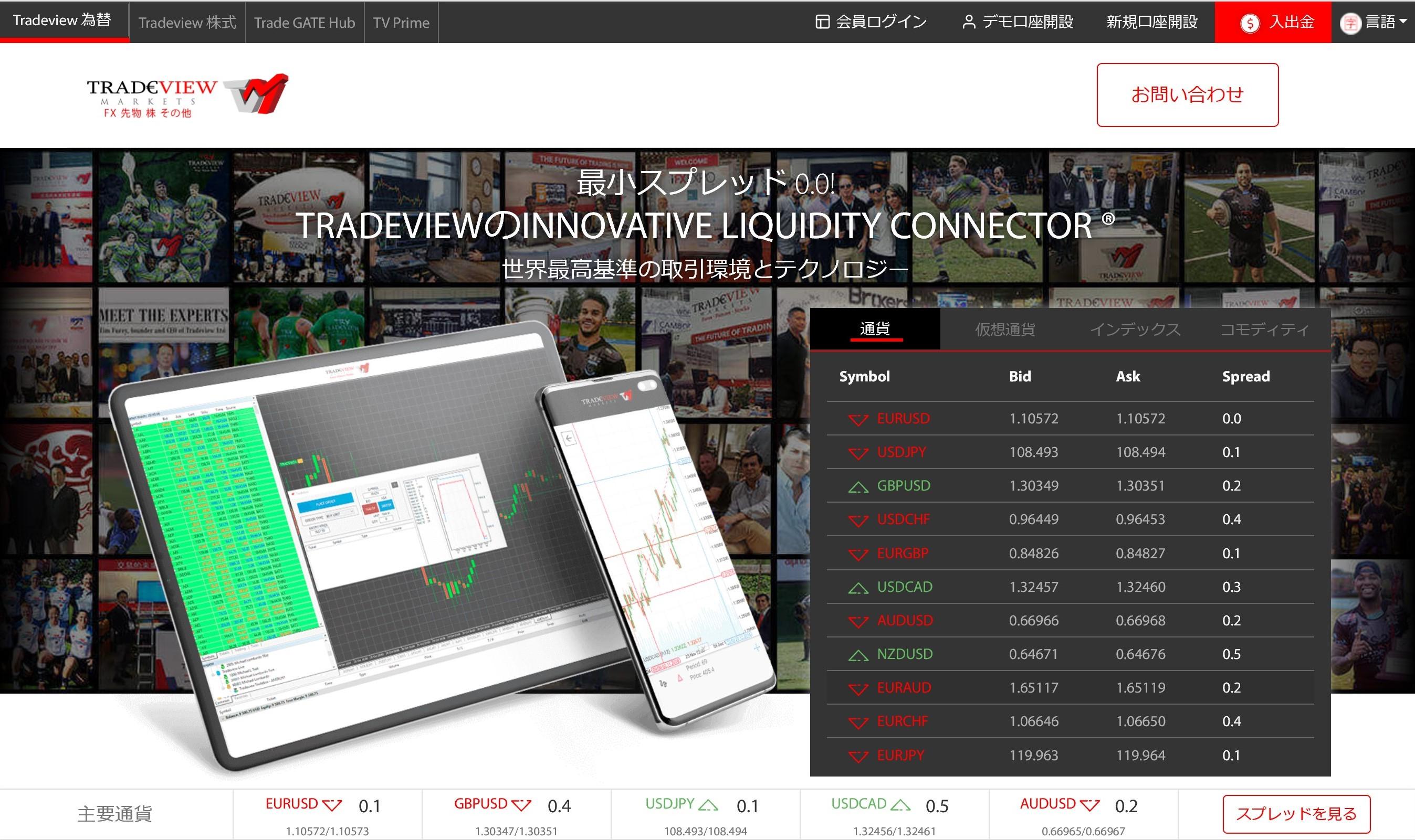 海外FX TRADE VIEW 口座開設 メリット・デメリット